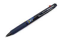 Uni Jetstream 3 Color Ballpoint Multi Pen - 0.38 mm - Transparent Navy Body - UNI SXE340038T.9