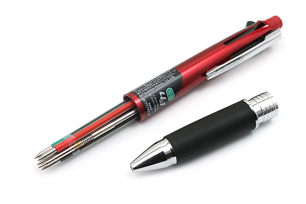 Uni Jetstream 4&1 4 Color 0.5 mm Ballpoint Multi Pen + 0.5 mm Pencil - Bordeaux Body - UNI MSXE510005.65