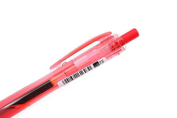 Zebra Surari Emulsion Ink Pen - 0.7 mm -  Candy Pop Color - Cherry Red Body - Limited Edition - ZEBRA BN11-CR