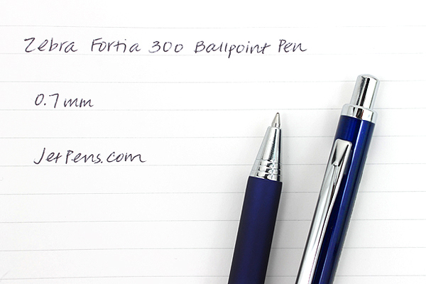 Zebra Fortia 300 Ballpoint Pen - 0.7 mm - Blue Body - ZEBRA BA80-BL