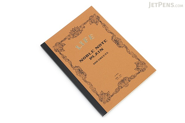 Life Noble Notebook - A4 - Plain - LIFE N34