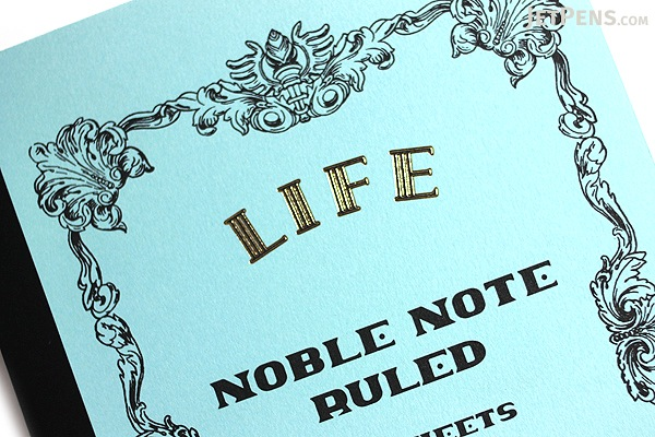 Life Noble Notebook - A5 - 8 mm Rule - Bundle of 3 - LIFE N39 BUNDLE