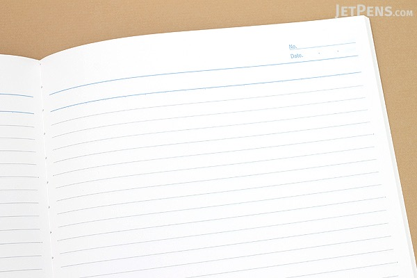 Apica CD Notebook - CD15 - Semi B5 - 6.5 mm Rule - Light Green - Bundle of 3 - APICA CD15HN BUNDLE