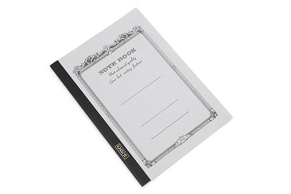 Apica CD Notebook - CD15 - Semi B5 - 6.5 mm Rule - Gray - APICA CD15DN