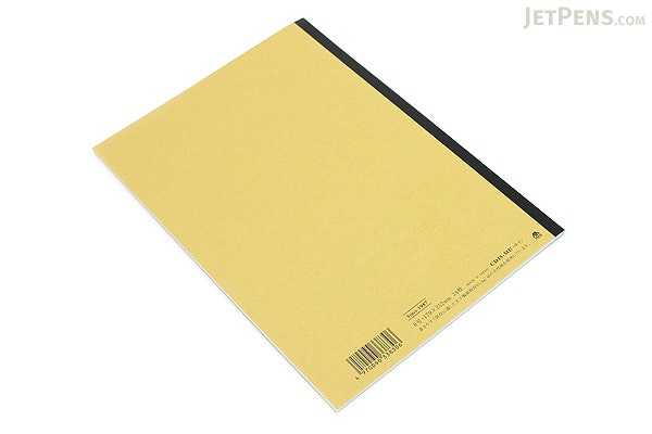 Apica CD Notebook - CD15 - Semi B5 - 6.5 mm Rule - Mustard - APICA CD15MU