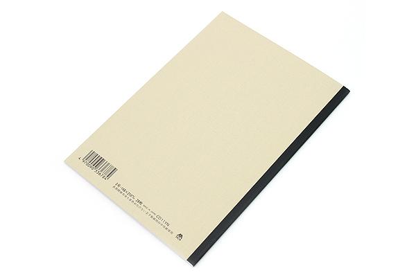 Apica CD Notebook - CD11 - A5 - 7 mm Rule - Yellow - APICA CD11YN