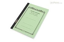 Apica CD Notebook - CD11 - A5 - 7 mm Rule - Light Green - APICA CD11HN