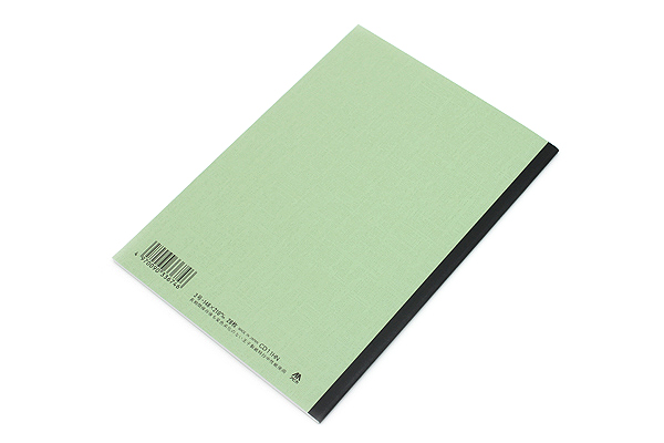 Apica CD Notebook - CD11 - A5 - 7 mm Rule - Light Green - APICA CD11HN