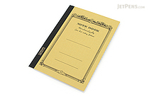Apica CD Notebook - CD11 - A5 - 7 mm Rule - Mustard - APICA CD11MU