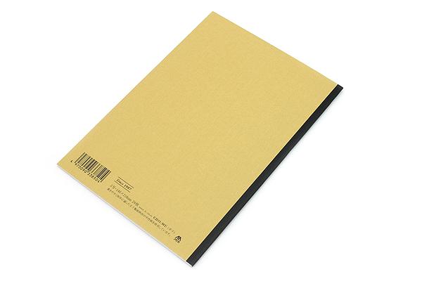 Apica CD Notebook - CD11 - A5 - 7 mm Rule - Mustard - APICA CD11MU