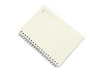 Kyokuto F.O.B COOP W Ring Notebook with Pocket - B6 - 7 mm Rule - White - KYOKUTO PT239W