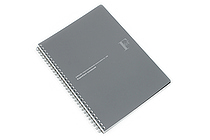 Kyokuto F.O.B COOP W Ring Notebook - B5 - 7 mm Rule - Black - KYOKUTO PTA03K