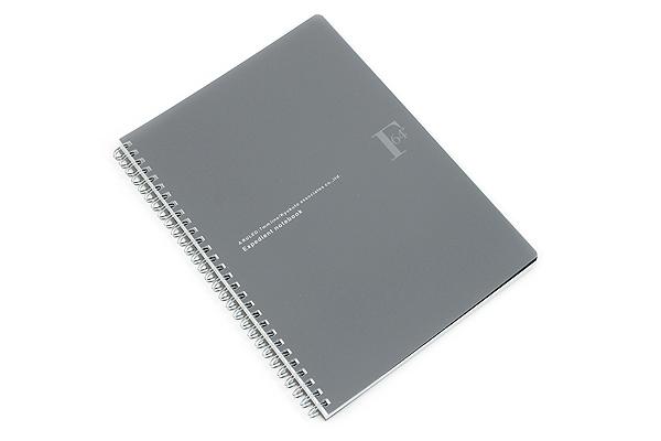 Kyokuto F.O.B COOP W Ring Notebook - B5 - 7 mm Rule - Black - KYOKUTO PTA03K