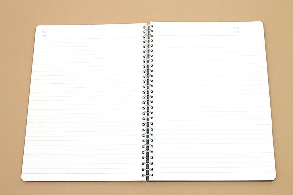 Kyokuto F.O.B COOP W Ring Notebook - B5 - 7 mm Rule - Black - Bundle of 3 - KYOKUTO PTA03K BUNDLE