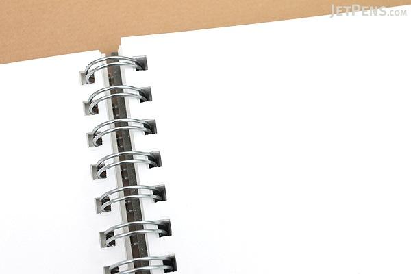 Kyokuto F.O.B COOP W Ring Notebook - B5 - Plain - White - Bundle of 3 - KYOKUTO PTW03W BUNDLE