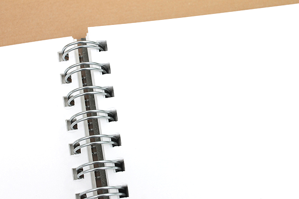 Kyokuto F.O.B COOP W Ring Notebook - B5 - Plain - White - Bundle of 3 - KYOKUTO PTW03W BUNDLE
