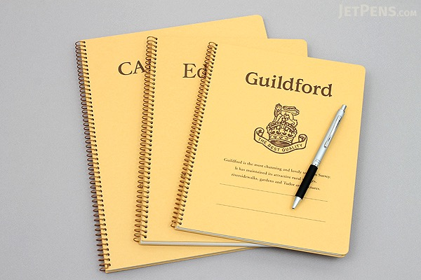 """Kyokuto Notebook - 7"""" x 9"""" - 6 mm Rule - Guildford - Bundle of 3 - KYOKUTO P303 BUNDLE"""