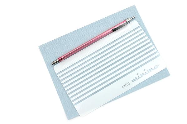 Ohto Minimo Ballpoint Pen with Holder - 0.5 mm - Pink - OHTO NBP-505MN-PK