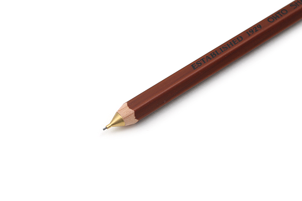 Ohto Wooden Mechanical Pencil - 0.5 mm - Brown - OHTO APS-280E-BROWN