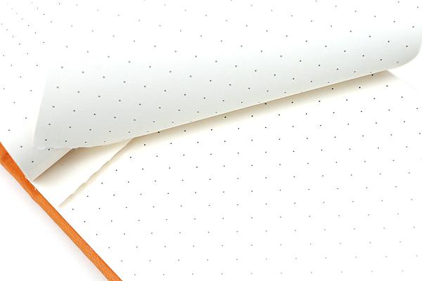 "Rhodia Webnotepad - 3.5"" x 5.5"" - Dot Grid - Orange - Bundle of 5 - RHODIA 118338 BUNDLE"