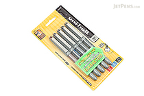Uni-ball Vision Needle Rollerball Pen - Fine Point - 5 Pen Set - UNI-BALL 1734914
