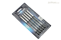 Uni-ball Vision Needle Rollerball Pen - Micro Point - 5 Pen Set - UNI-BALL 1734929