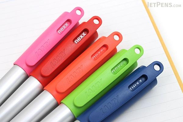 Lamy Nexx Fountain Pen - Fine Nib - Pink - LAMY L82F