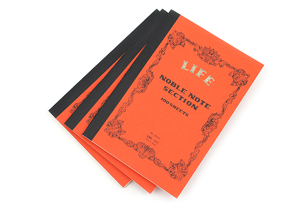Life Noble Notebook - A5 - Graph - Bundle of 3 - LIFE N33 BUNDLE