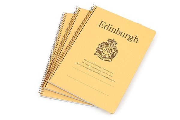 "Kyokuto Notebook - 7"" x 9.8"" - 6 mm Rule - Edinburgh - Bundle of 3 - KYOKUTO P513 BUNDLE"