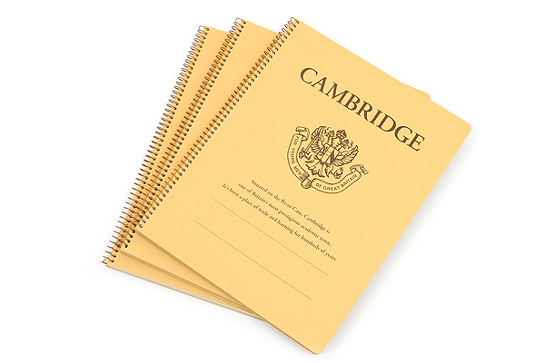 "Kyokuto Notebook - 8.6'' x 11"" - 7 mm Rule - Cambridge - Bundle of 3 - KYOKUTO P903 BUNDLE"