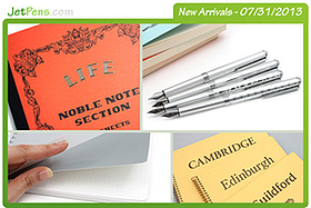 New Products: Paper Feature! Quality Notebooks including the Life Noble, Kyokuto F.O.B. COOP, and Rhodia Webnotepad, plus many more!