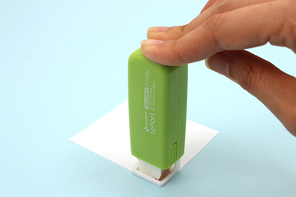 Nichiban Tenori Adhesive Stamp - Green - NICHIBAN TN-TE7H3