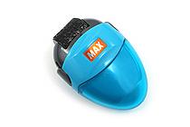 Max Korokoro Keshikoro Personal Information Protection Roller Stamp - Blue - MAX SA-151R/B