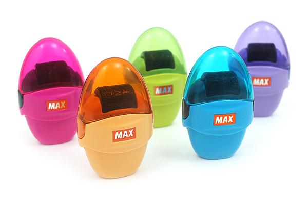 Max Korokoro Keshikoro Personal Information Protection Roller Stamp - Pink - MAX SA-151R/P