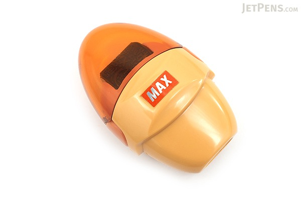 Max Korokoro Keshikoro Personal Information Protection Roller Stamp - Orange - MAX SA-151R/OR