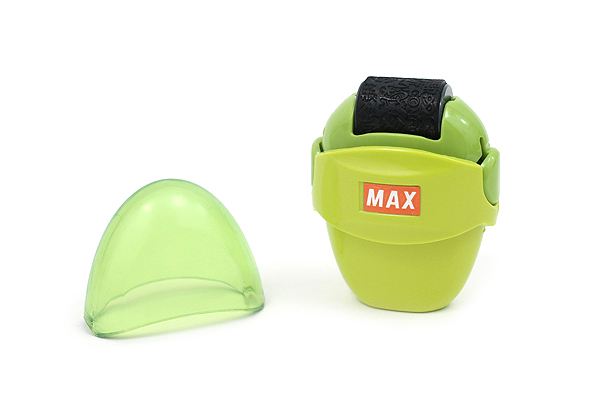 Max Korokoro Keshikoro Personal Information Protection Roller Stamp - Light Green - MAX SA-151R/LG