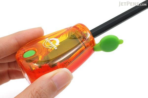 Sonic Ratchetta Pencil Sharpener with Notification - Orange - SONIC SK-825-OR