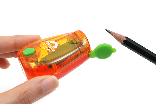 Sonic Ratchetta Pencil Sharpener with Notification - Orange - SONIC SK-825-OR