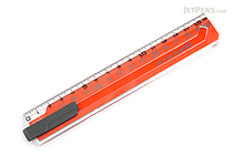 Sonic Nobirura 16<->30 cm Extendable Ruler - Orange - SONIC SK-499-OR