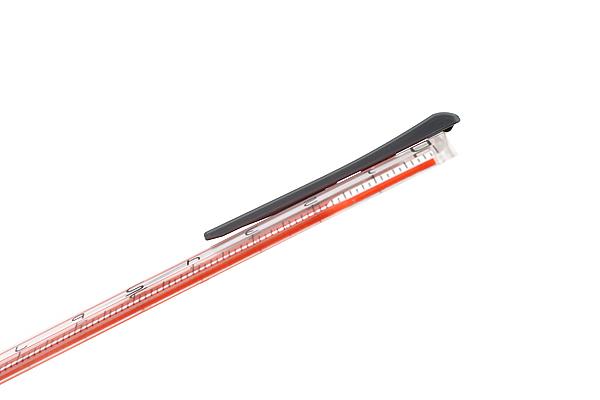 Sonic Nobirura 16<->30 cm Extendable Ruler - Orange - SONIC SK-499-OR
