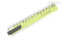 Sonic Nobirura 16<->30 cm Extendable Ruler - Green - SONIC SK-499-G