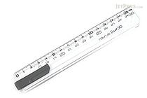 Sonic Nobirura 16<->30 cm Extendable Ruler - White - SONIC SK-499-W