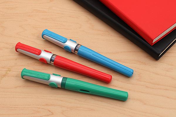Pelikan Pelikano Fountain Pen P481L - Left-Handed Nib - Green Body - PELIKAN 958843