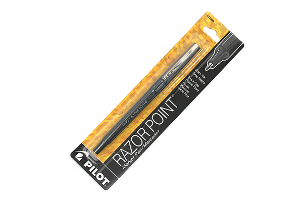 Pilot Razor Point Marker Pen - 0.3 mm - Black - PILOT 11000