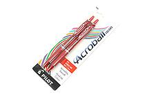 Pilot Acroball Ballpoint Pen - 1.0 mm - Red - Pack of 2 - PILOT 31833