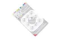 Sonic PM Pull Magnet - Pin Type - Clear - Pack of 8 - SONIC MG-785-T