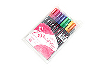 Tombow Dual Brush Pen - 10 Pen Set - Retro - TOMBOW 56157