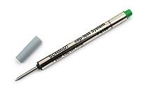 Schmidt P8126 Capless System Rollerball Pen Refill - Fine Point - Green - SCHMIDT 81268