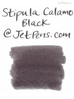 Stipula Calamo Fountain Pen Ink - 70 ml Bottle - Black - STIPULA STN48907