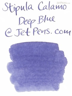 Stipula Calamo Fountain Pen Ink - 70 ml Bottle - Deep Blue